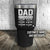 Dad Established Personalized Color Printed Tumbler