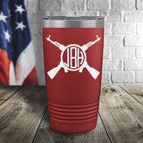 AK-47 Monogram Personalized Color Printed Tumbler