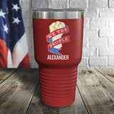 We The People Personalized Color Printed Tumbler