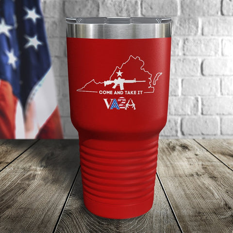 VA2A Come and Take it Color Printed Tumbler