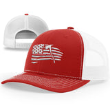 Thin Red Line Tethered Flag Hat