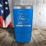Trump Train 2020 Laser Etched Tumbler