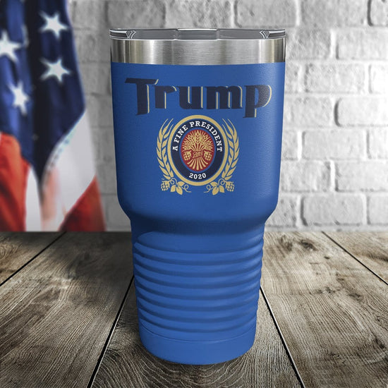 SALE! Trump A Fine President Color Printed Tumbler