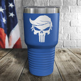Trump Punisher Color Printed Tumbler