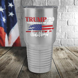 Trump 2020 Signature Color Printed Tumbler