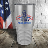 Merica Personalized Color Printed Tumbler