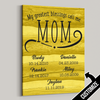 My Greatest Blessings Call Me Mom Rustic Sepia Canvas - Patriot Republic