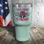 This Chick is Packin' 2nd Amendment Color Printed Tumbler