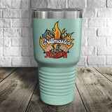 Grillmaster Personalized Color Printed Tumbler