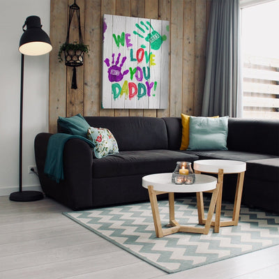 We Love You Daddy Premium Canvas