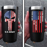 U.S. Army Color Printed Tumbler