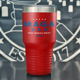 MAGA Dad 2020 Color Printed Tumbler
