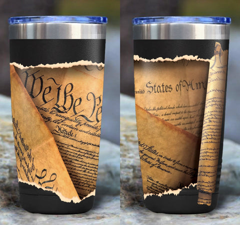 We The People Full Color Wrap Tumbler