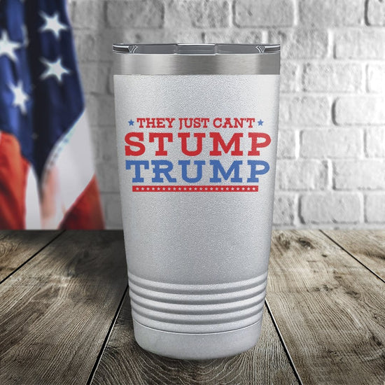 Can't Stump Trump Color Printed Tumbler