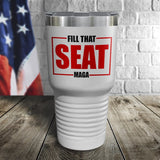 Fill That Seat Color Printed Tumbler