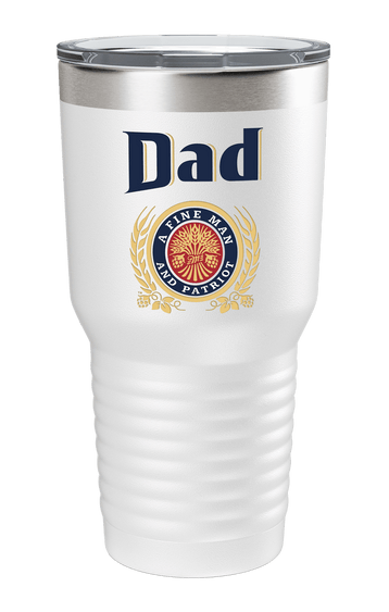 Dad. A Fine Man. Color Printed Tumbler