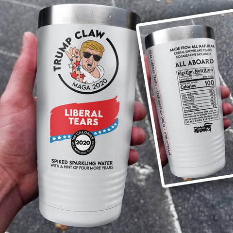 Trump Claw Color Printed Tumbler