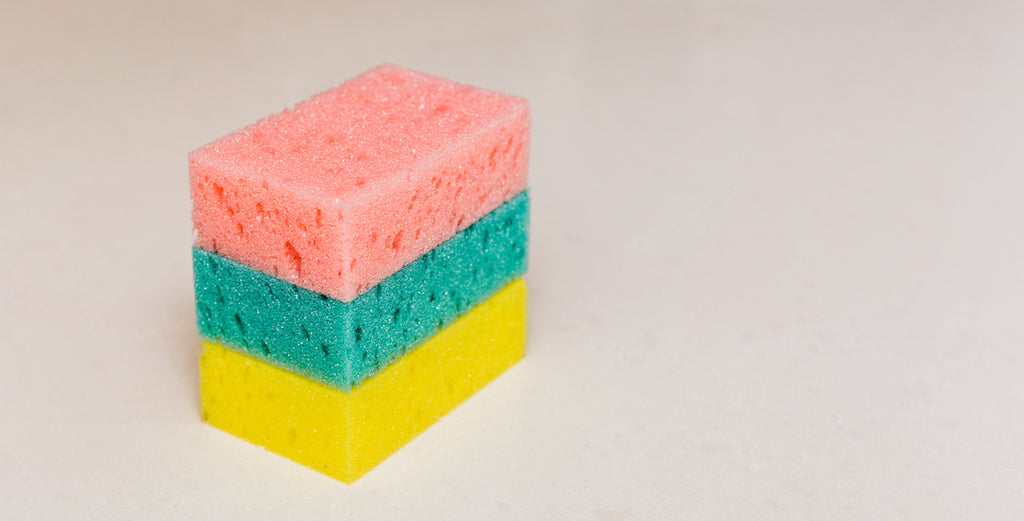 So Your Kitchen Sponge is Gross: Learn How to Clean Your Kitchen Sponge Today