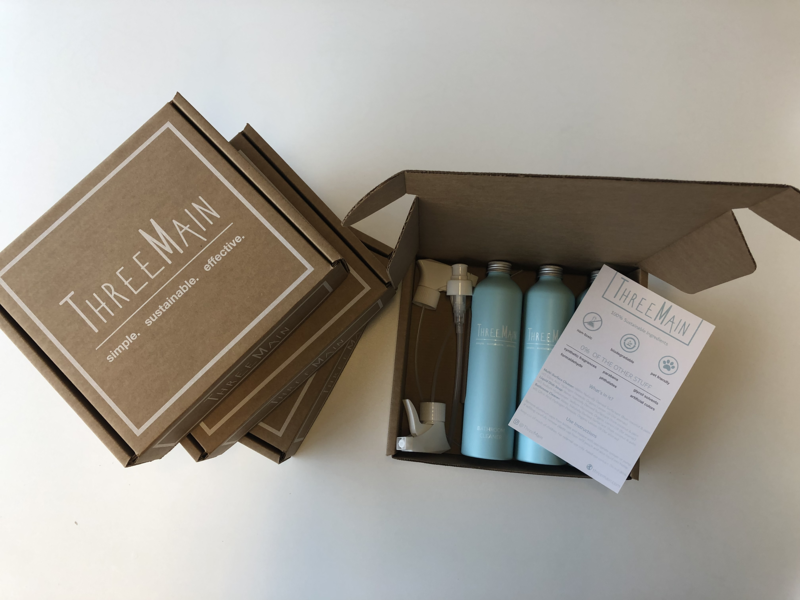 ThreeMain Sustainable Packaging