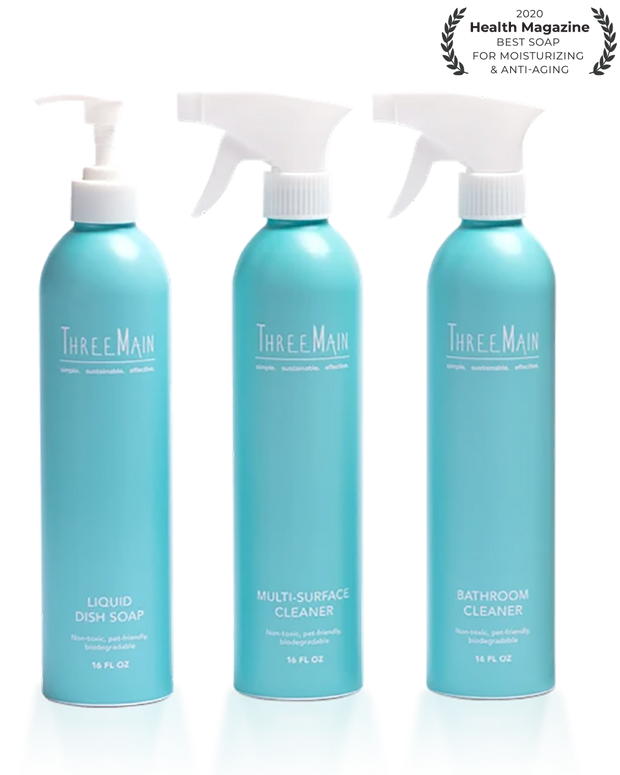 Complete Cleaning Kit with First Set of Refills 1