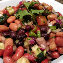 Brozzian's Fresh Summer Bean Salad