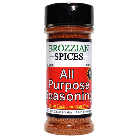 All Purpose Seasoning - Salt Free - Brozzian Spices