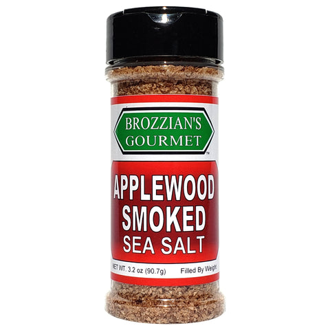 Applewood Smoked Sea Salt - Brozzian Spices