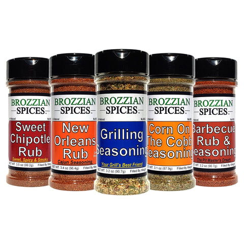 Backyard BBQ - Brozzian Spices