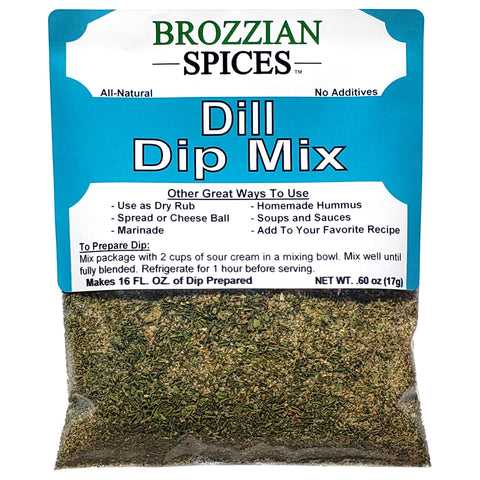 Dill Dip Mix - Brozzian Spices