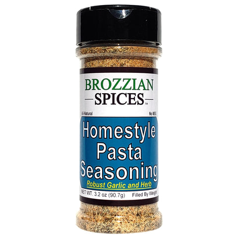 Homestyle Pasta Seasoning - Brozzian Spices