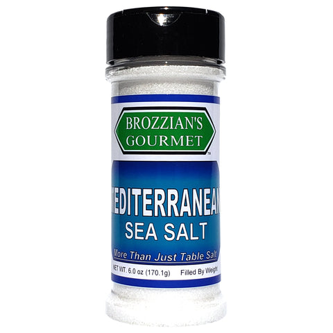 Mediterranean Sea Salt - Brozzian Spices