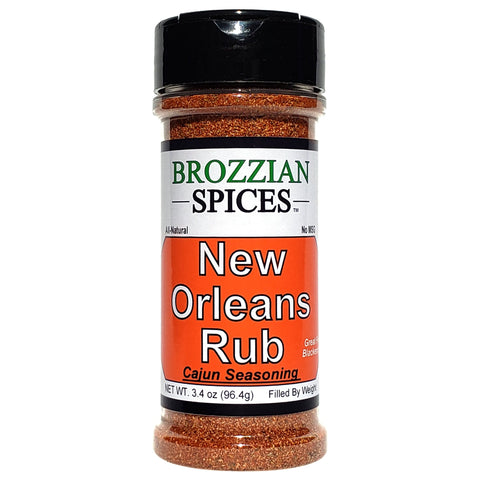 New Orleans Rub - Brozzian Spices