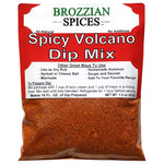 Spicy Volcano Dip Mix - Brozzian Spices