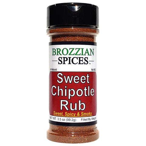 Sweet Chipotle Rub - Brozzian Spices