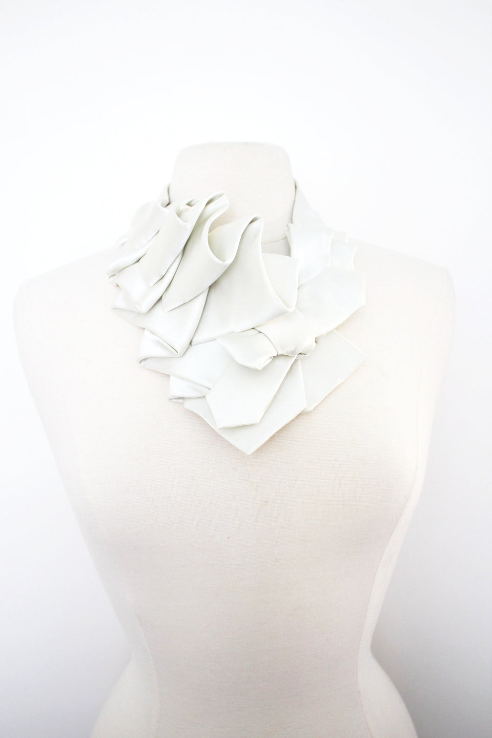 Satin Aster - Antique White