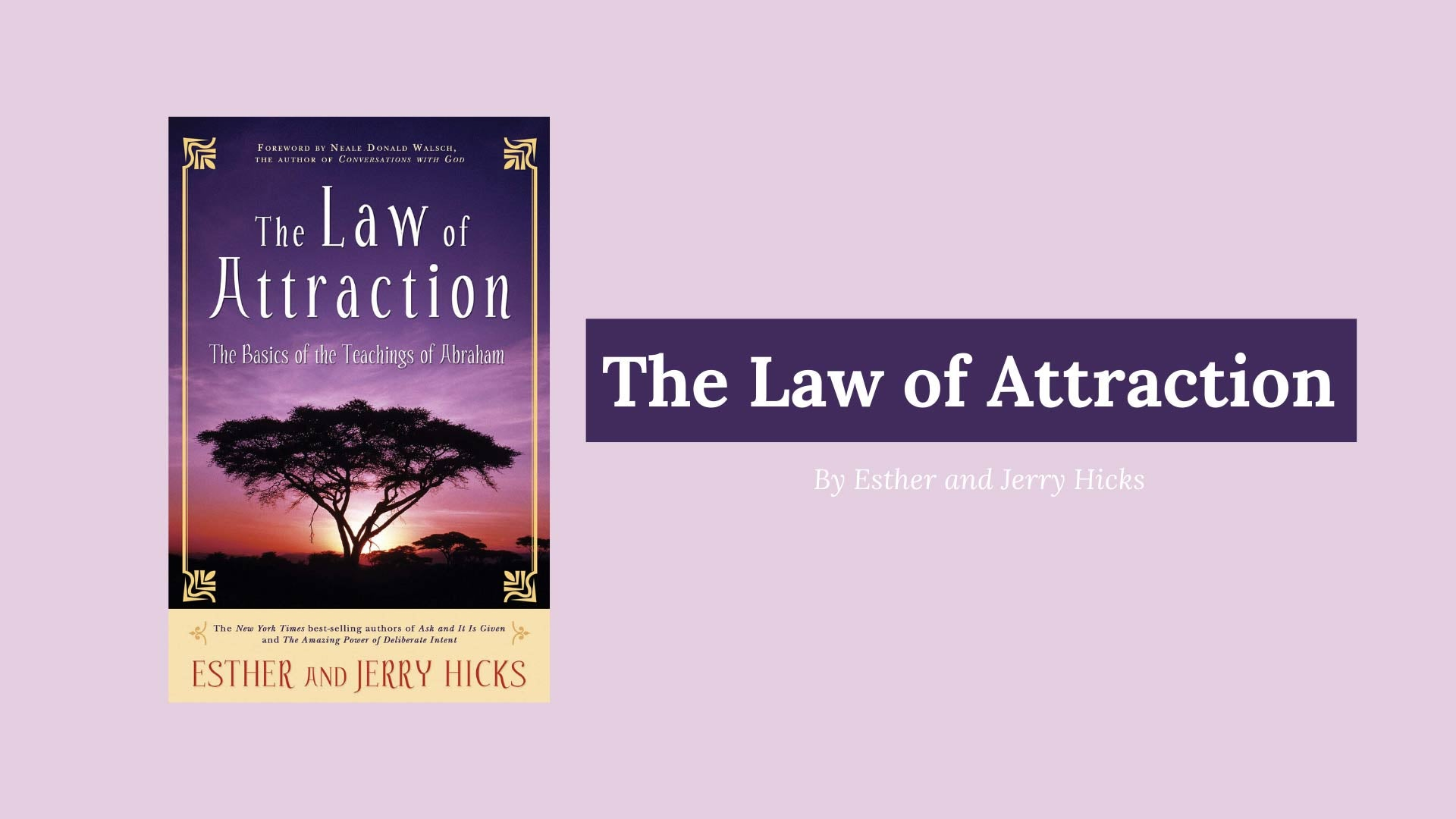 picture of the law of attraction book