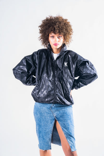 IVAN KILLER BOMBER JACKET - BLACK