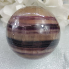 Load image into Gallery viewer, Pink Fluorite Sphere  #7