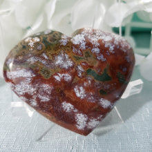 Load image into Gallery viewer, Ocean Jasper Heart #2