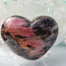Load image into Gallery viewer, Rhodonite Heart #3