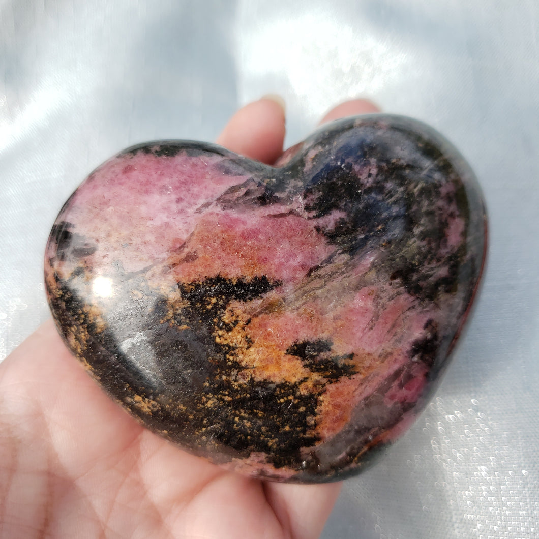 Rhodonite Heart #3