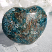 Load image into Gallery viewer, Blue Apatite Heart #1