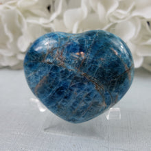 Load image into Gallery viewer, Blue Apatite Heart #4