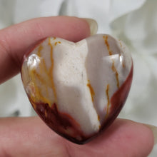 Load image into Gallery viewer, Mookaite  30mm Puffed Heart