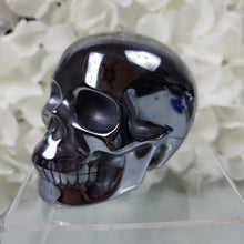 Load image into Gallery viewer, Hematite Skull, Large IV
