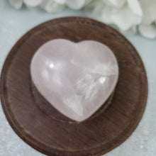 Load image into Gallery viewer, Rose Quartz Crystal Heart 10