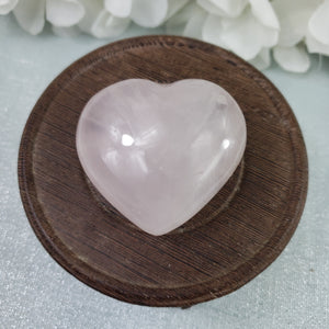 Rose Quartz Crystal Heart 10