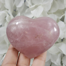 Load image into Gallery viewer, Rose Quartz Crystal Heart 14
