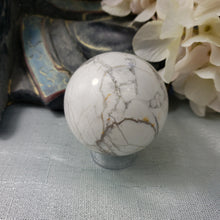 Load image into Gallery viewer, White Howlite Sphere #5