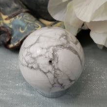 Load image into Gallery viewer, White Howlite Sphere #7